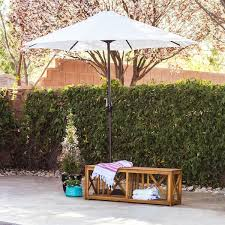Olefin Patio Umbrella Company Premium Olefin 9 Foot Patio Umbrella With Stand
