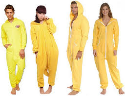 yellow onesie for adults choozone