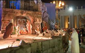 where to find the most spectacular outdoor nativity scene in rome