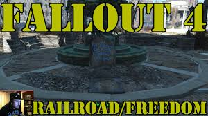 Freedom Trail Map Boston by Fallout 4 How To Find The Railroad Freedom Trail Youtube