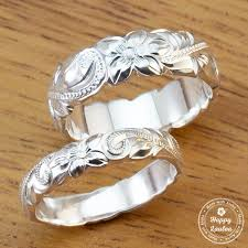 silver hand rings images Pair of 925 sterling silver hand engraved old english design rings 4 jpg