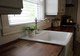 Kitchen Porcelain Sink How To Clean A White Porcelain Sink The Creek Line House