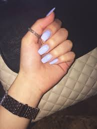 blue acrylic nails nails pinterest blue acrylic nails