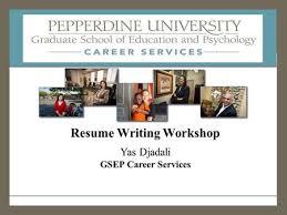 Resume Services Los Angeles Resume Writing Workshop Ppt Download