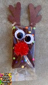 Student Christmas Gift Pinterest Rudolph Reindeer Brownies Brownies Holidays And Craft