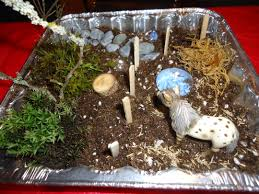 making miniature gardens with children that bloomin u0027 garden