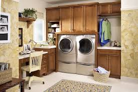 merillat vanity laundry room traditional with kitchen cabinets