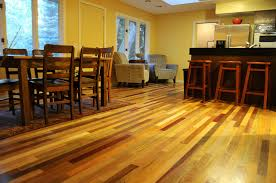 Exotic Laminate Flooring Exotic Wood Salvaged From Ships Finds New Life As Flooring