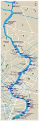 Lan Route Map by Bangkok Express Boat Route Map Thailand Pinterest Bangkok