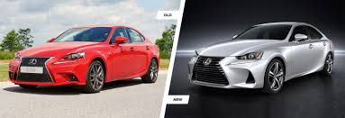 old lexus sedan facelifted lexus is u2013 spot the difference carwow