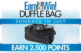 Silverton Casino Buffet Coupons by Earn U0026 Win Duffle Bag Silverton Casino