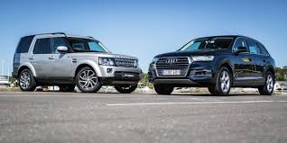 land rover discovery 4 2016 2017 audi q7 v 2016 land rover discovery comparison gearopen
