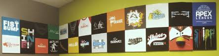 How To Hang Pictures On A Wall How To Make Your Own T Shirt Wall
