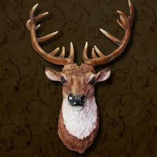 decorating ideas gorgeous brown wallpaper decoration along with fascinating wall decoration using resin deer heads gorgeous brown wallpaper decoration along with brown resin