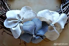 Fabric Flowers Tutorial For Fabric Flowers Diy Inspired