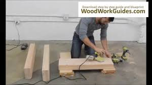 easy to make wooden sofa furniture projects youtube