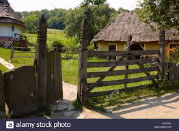 ancient country life style lanscape ukraine eastern europe travel