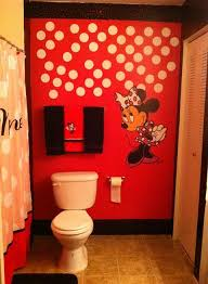 disney bathroom ideas minnie mouse themed bathroom mural designed my me tena mo nique