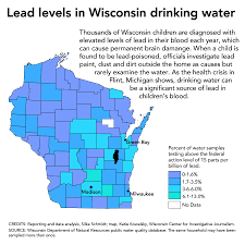 Wisconsin Dnr Lake Maps in wake of flint crisis wisconsin dnr testing remains outdated