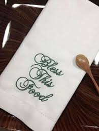 thanksgiving gobble cloth dinner napkins by whitetulipembroidery