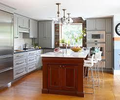 kitchen center island cabinets eye catching contrasting kitchen islands cabinet island ideas