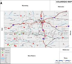 Colorado Cities Map by Colorado Map