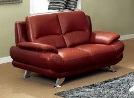 Red Leather Chair Dr Sofa In Dark Red Leather By Pantek W Options