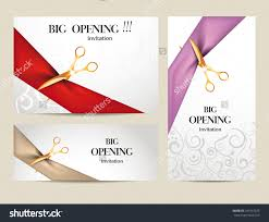 New Office Opening Invitation Card Invitation Opening Ceremony Invitation Template