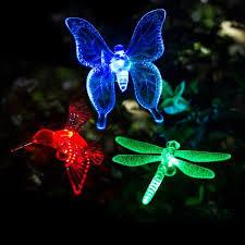 Patio Decorative Lights Shop For Gigalumi Solar Garden Lights Outdoor 3 Packs Solar