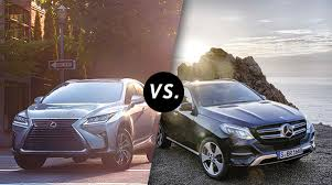 lexus better than mercedes comparison 2017 lexus rx 350 vs mercedes gle longo lexus