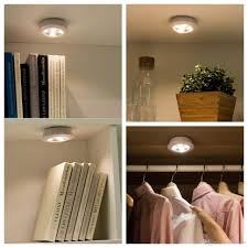 stick on lights for closets lighting best misso stick on portable wireless remote control puck