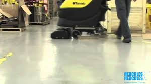 Minuteman E17 by Using An Automatic Floor Scrubber Floor Cleaning Equipment