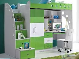 Plans For Loft Beds With Storage by Kids Loft Bed With Computer Desk Wardrobe U0026 Storage Many Designs