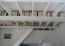 Ceiling Bookshelves by Ceiling Book Storage Idea Freshome Com