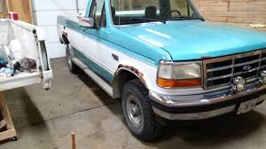 Ford F150 Truck Generations - 1994 f150 restoration part 1 youtube