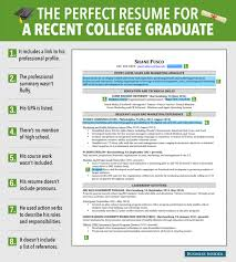 latest resume models perfect resume template and get ideas to create your resume with excellent resume for recent grad business insider with recent college graduate resume template excellent resume