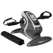 Under Desk Exercise by Brookstone Under Desk Exercise Bike Sit Down Mini Pedal Workout