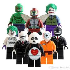 Killer Croc Halloween Costume 2017 Super Heroes Educational Building Blocks Toys Children