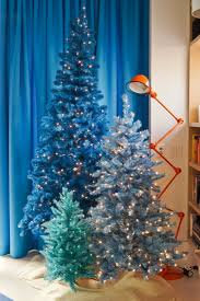 small blue christmas tree small decorative christmas tree with