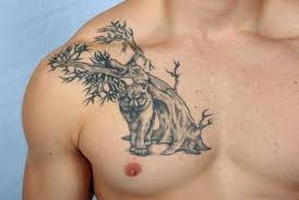 64 mind blowing tree tattoos for chest