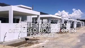 single storey semi detached house design in malaysia youtube