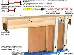 Barn Door Hardware Installation Tips U0026 Ideas Interesting Pocket Door Installation For Your Home