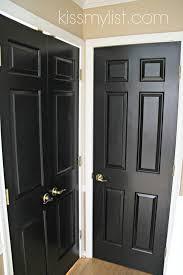interior design simple black painted interior doors room ideas