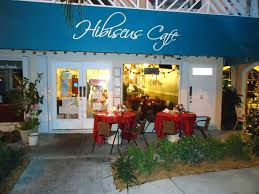building exterior design of hibiscus cafe fort lauderdale