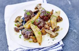 cuisiner des rognons fricassée de rognons de génisse recettes de cuisine la viande fr