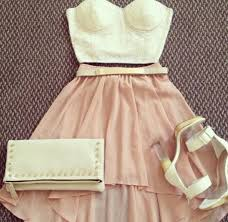 white lace bustier top and light pink skirt my style pinterest