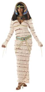 Egyptian Mummy Queen All White Could Be A Problem On Halloween