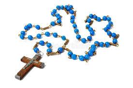 christian rosary blue rosary stock image image of religious cross christian 56010765
