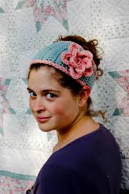 crochet flower headband tapered flower headband a free crochet pattern alaska knit nat