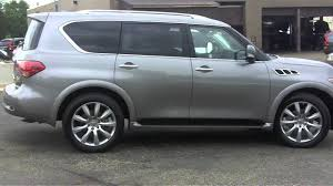 infiniti qx56 vs mercedes gl450 2011 infiniti qx56 for sale chicago youtube